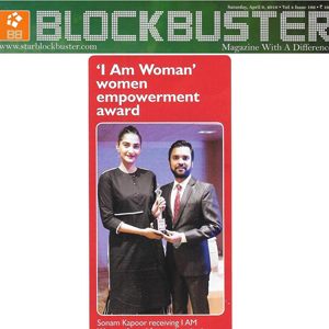 I Am Woman coverage in Blockbuster - 9th Apr